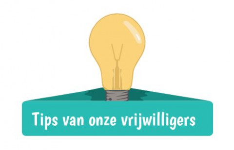 Tips vrijwilligers
