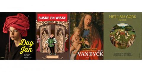 covers boeken Van Eyck