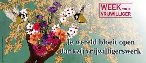 Week van de vrijwilliger 2021 banner